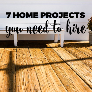 7 Home Projects For Which You Need To Hire