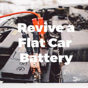 How to Revive a Flat Car Battery