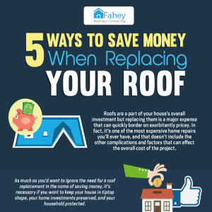5 Ways to Save Money When Replacing Your Roof