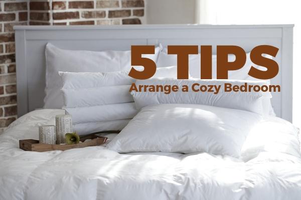 5 Tips to Arrange a Cozy Bedroom