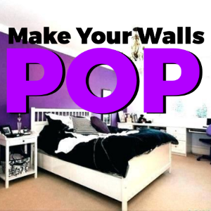 Make your Walls Pop with Purple