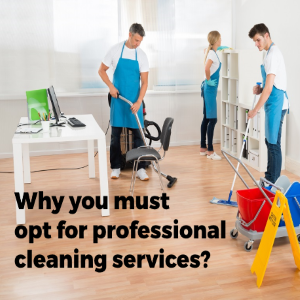 Why You Must Opt for Professional Commercial Cleaning Services?