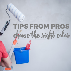 Tips from Professional Painters to Choose the Right Color for Your Home