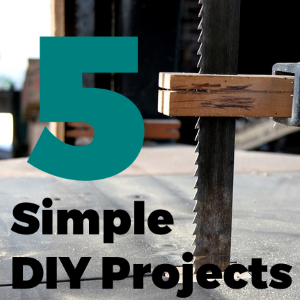 5 Simple DIY projects you can Complete with a Bandsaw