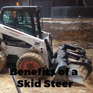 The Benefits Of A Skid Steer When Renovating Your Backyard