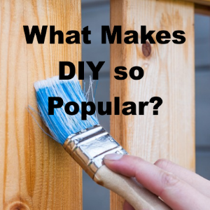 What Makes Doing It Yourself So Popular?