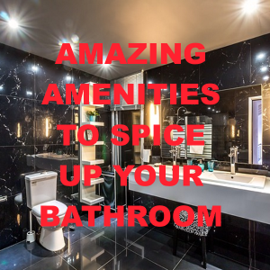 6 Amazing Amenities to Spice Up Your Bathroom Refurb