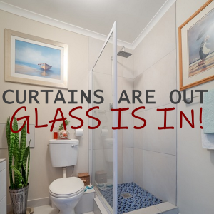 Curtains are Out and Glass is In: 5 Benefits of Glass Shower Doors