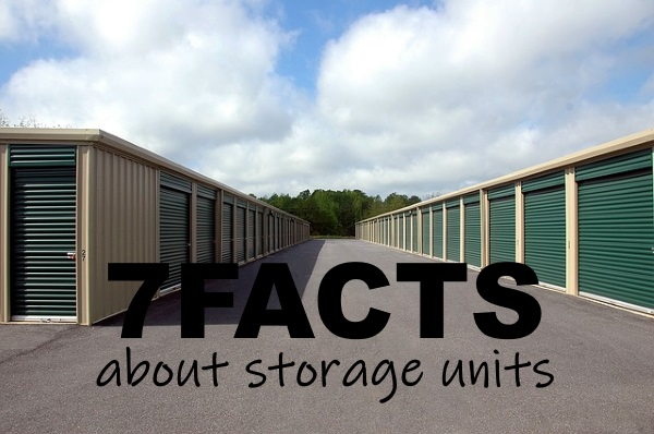 7 Facts About Storage Units