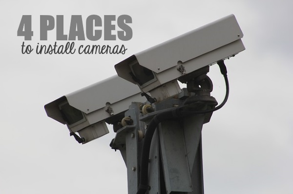 4 Places to Instal CCTV Camera