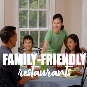 Make Your Party Arrangement Exclusive in Family-Friendly Restaurants