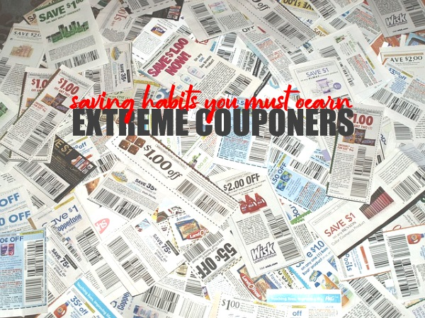 Extreme Couponers Saving Habits