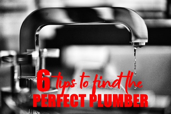 Tips For Finding The Perfect Plumber