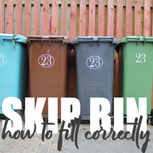 How to Fill Your Skip Bin Correctly – 6 tips