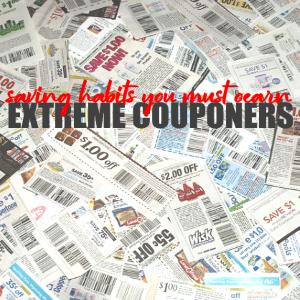Extreme Couponers Saving Habits