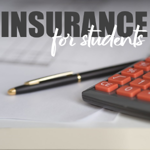 What type of insurance should students get when studying out of state?