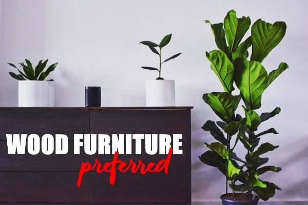 Wood Furniture is Being Preferred