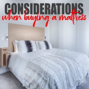 Considerations When Looking For a Quality Mattress