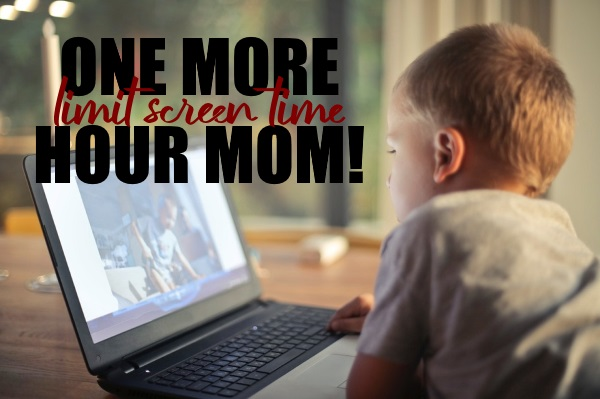 Limit Your Childrens Screen Time