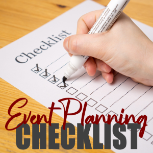 Plan the Perfect Event with Our Event Planning Checklist