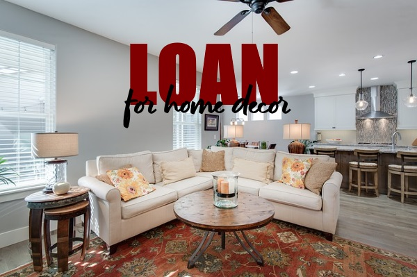 Personal Loan for Home Décor