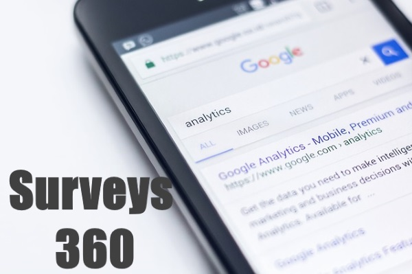 Surveys 360 Of Google Analytics