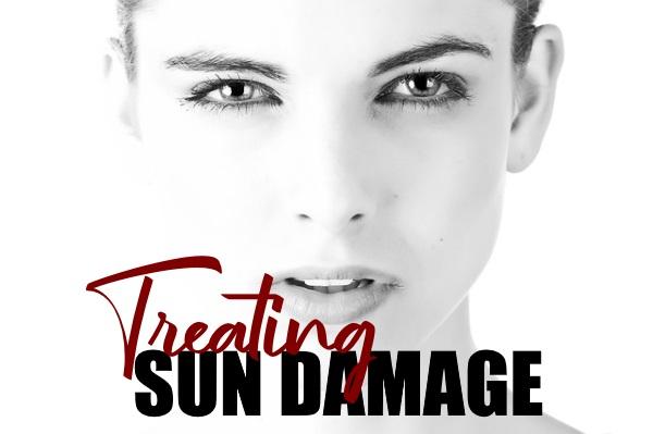 Treating Sun-Damaged Face & Skin