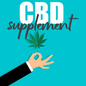 CBD as a supplement for mainstream drugs