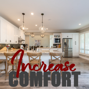 Changes You Could Make To Increase The Comfort Of Your Home Environment