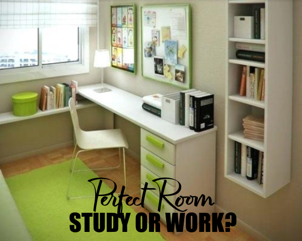 Designing the Perfect Room for Study or Work