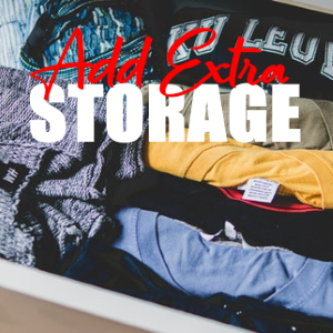 Easy Ways You Can Add Extra Storage To Your Home