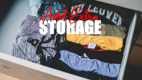 Add Extra Storage To Your Home