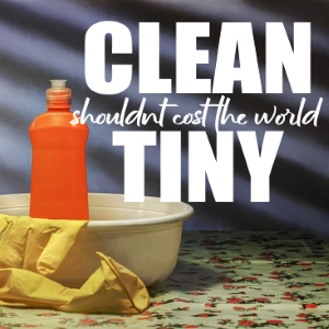 Keeping a Clean, Tidy, Happy and Healthy Home Needn't Cost The World!