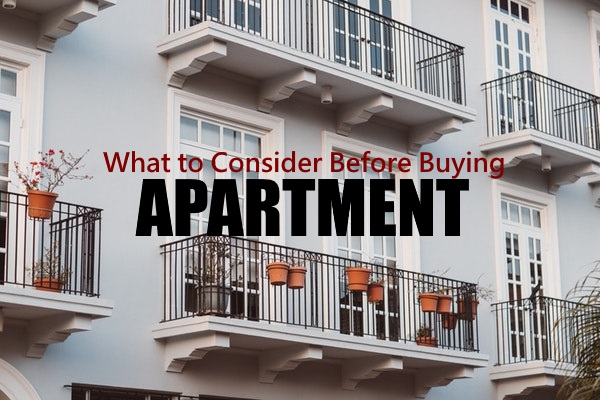 Consider Before Buying An Apartment