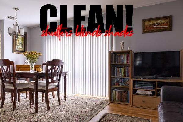 Clean Shutters, Blinds And Shades