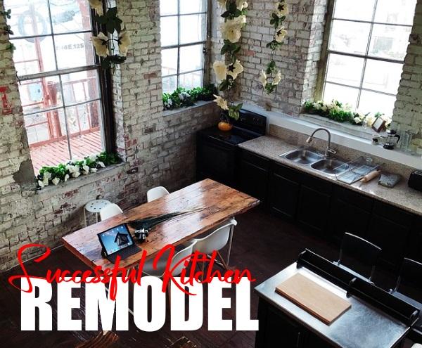 Successful Kitchen Remodel