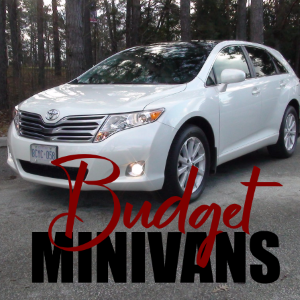 Budget Minivans for the Whole Family