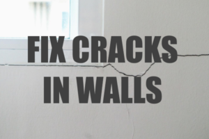 Fix Cracks in Walls like a Pro