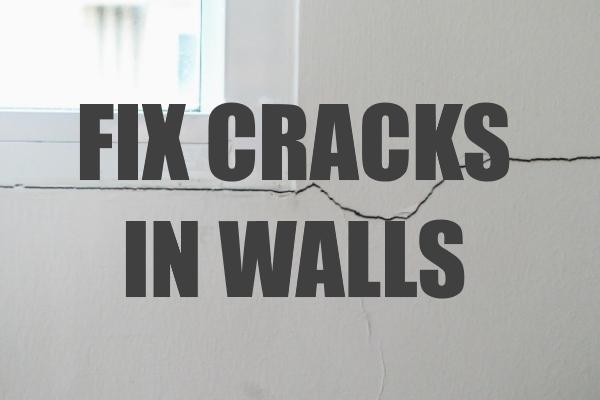 Fix Cracks in Walls like a Pro
