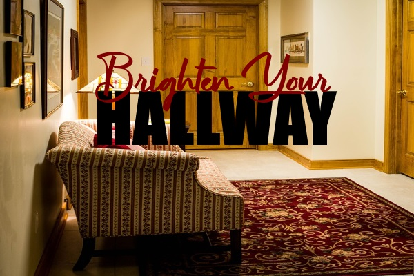Brighten Your Dark and Small Hallway