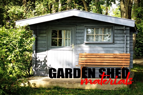 Materials To Use For A Garage Shed
