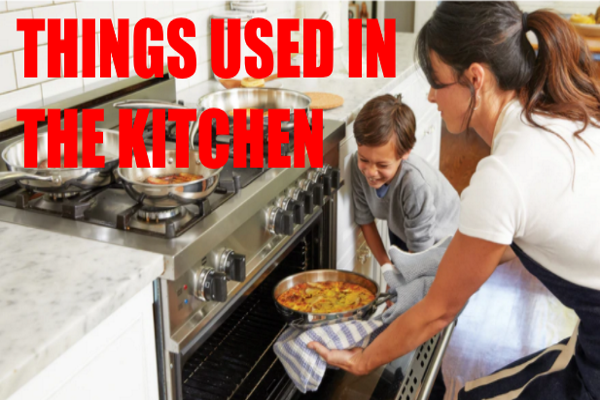 Things in Kitchen