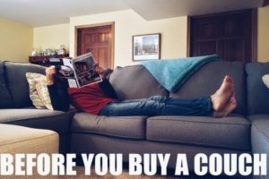 BUYING A COUCH