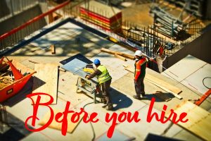 Hiring Construction Services