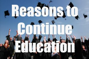 Pursue Continuing Education