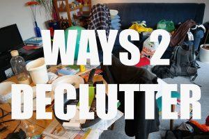 Ways to Declutter