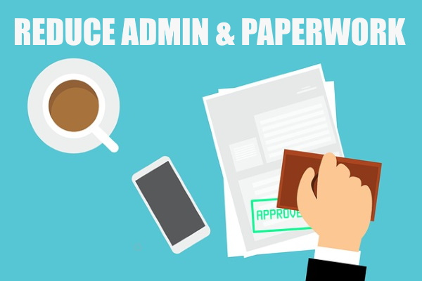 Simple Ways to Reduce Admin & Paperwork in Your Office