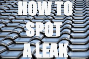 Spot A Leak In Your Roof