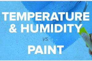 Temperature And Humidity Vs. Paint