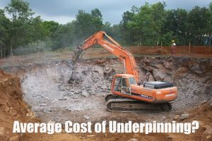 Average Cost of Underpinning